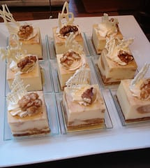 Banana Walnut Cheesecake