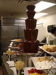 The Chocolate Fountains
