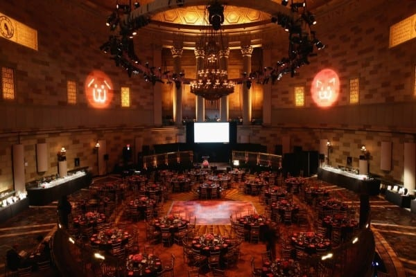 NEW YORK, NY - JUNE 09:  A general view of atmosphere during the Bideawee Masquerade Ball at Gotham Hall on June 9, 2014 in New York City.  (Photo by Neilson Barnard/Getty Images for Bideawee)