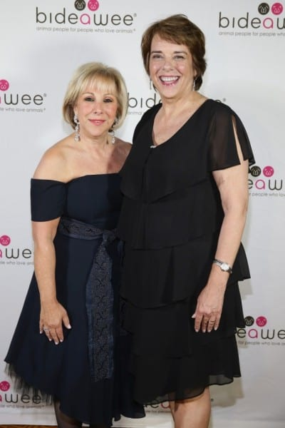 NEW YORK, NY - JUNE 09:  Honoree/London Jewelers President Candy Udell and President/CEO of Bideawee Nancy Taylor attend the Bideawee Masquerade Ball at Gotham Hall on June 9, 2014 in New York City.  (Photo by Neilson Barnard/Getty Images for Bideawee)