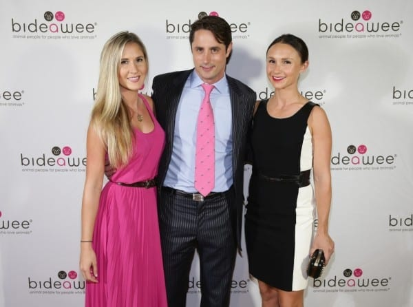 NEW YORK, NY - JUNE 09:  Linnea Sensenbaugh, Honoree Prince Lorenzo Borghese and Equestrian Georgina Bloomberg attend the Bideawee Masquerade Ball at Gotham Hall on June 9, 2014 in New York City.  (Photo by Neilson Barnard/Getty Images for Bideawee)