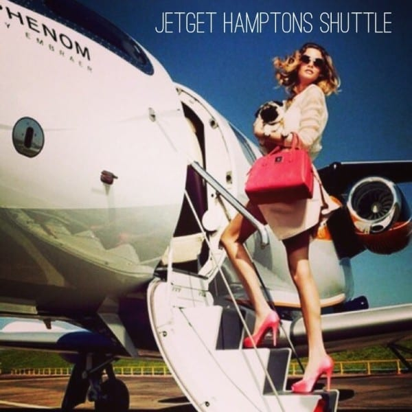 JetGet, offering flight solutions from New York to the Hamptons starting Memorial Day Weekend, 2015. (PRNewsFoto/JetGet)