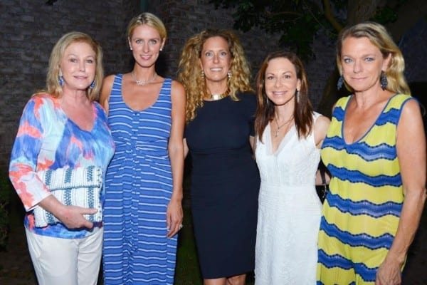 Kathy Hilton, Nicky Hilton Rothschild, Simone Levinson, Bettina Zilkha, Debbie Bancroft