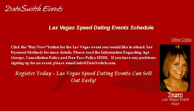 Speed dating scheduler